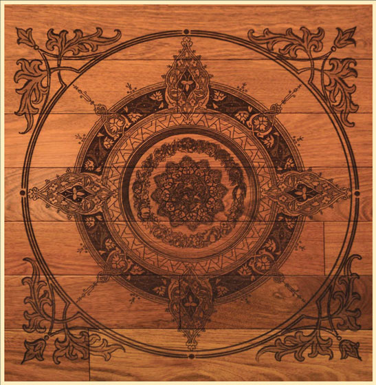 Prefinished Wood Flooring Designs Carving Amp Engraving