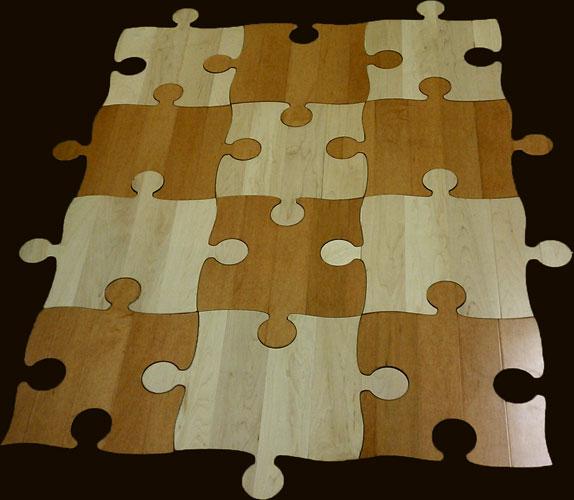 flower tree tree tree - Puzzle Wood Flooring