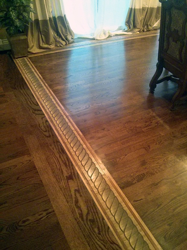 Hardwood Floor Medallions Wood Floor Designs Inlays