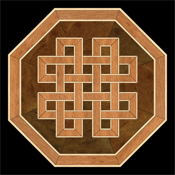 Celtic Knot Wood Floor Medallion Hardwood Floor Design